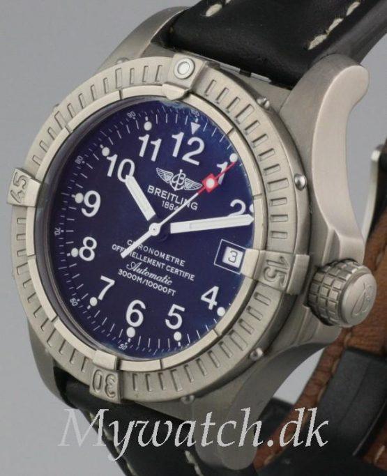 Solgt - Breitling Seawolf Titanium - 3000 mtr.-22246