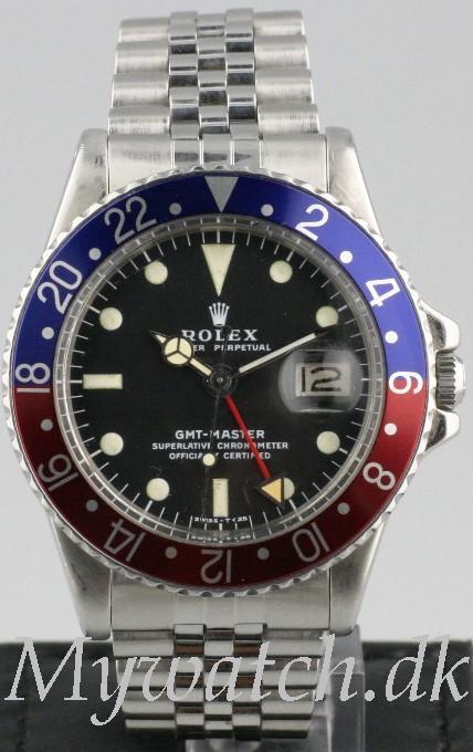 Solgt - Rolex GMT Master ref. 1675 - 1976-0