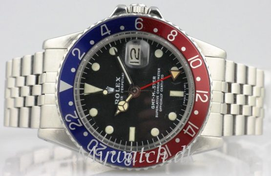 Solgt - Rolex GMT Master ref. 1675 - 1976-21525