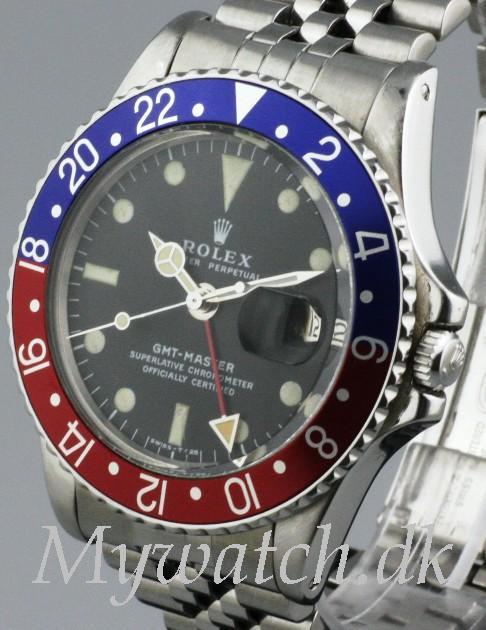 Solgt - Rolex GMT Master ref. 1675 - 1976-21526