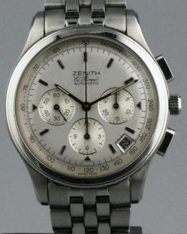 Solgt - Zenith El Primero Chronograph - 1999-0