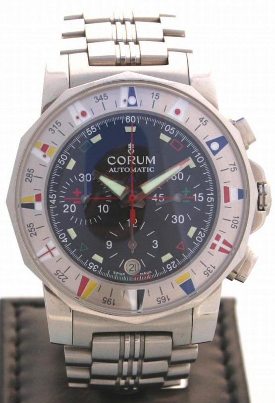 Solgt - Corum Admirals Cup chronograph - 2006-0