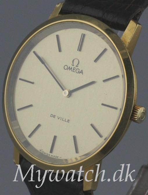 Solgt - Omega DeVille 14 ct. guld-21534