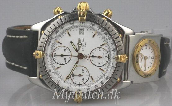 Solgt - Breitling Chronomat m/ UTC modul-22180
