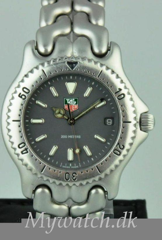 Solgt - Tag Heuer Y-Link quartz 200 mtr. Diver-0