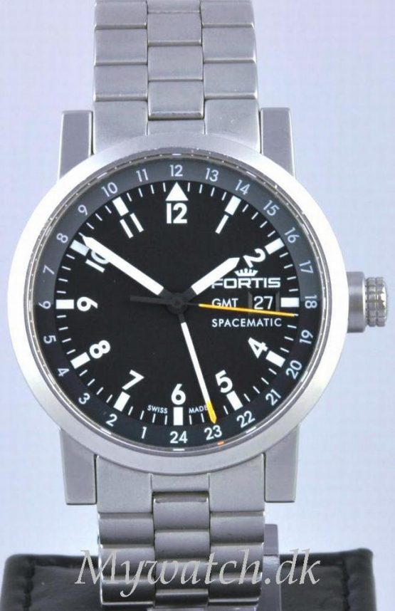 Solgt - Fortis Spacematic GMT automatic - 2005-0