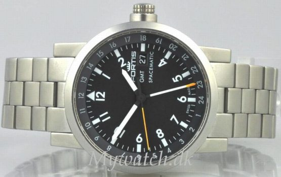 Solgt - Fortis Spacematic GMT automatic - 2005-21661