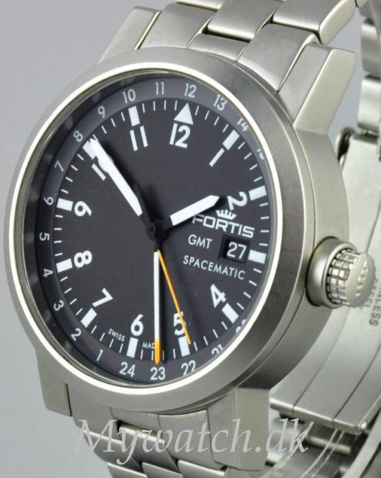 Solgt - Fortis Spacematic GMT automatic - 2005-21662
