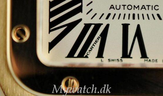 Solgt - Cartier Santos 100 XL 18 ct. guld - 2010-22316