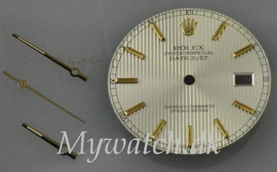 Solgt - Visere og dial til Rolex 16200-0