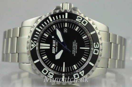 Solgt - Deep Blue 2000 mtr. diver - 2010-21861