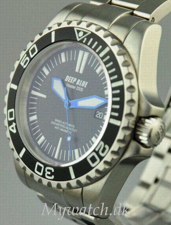 Solgt - Deep Blue 2000 mtr. diver - 2010-21862