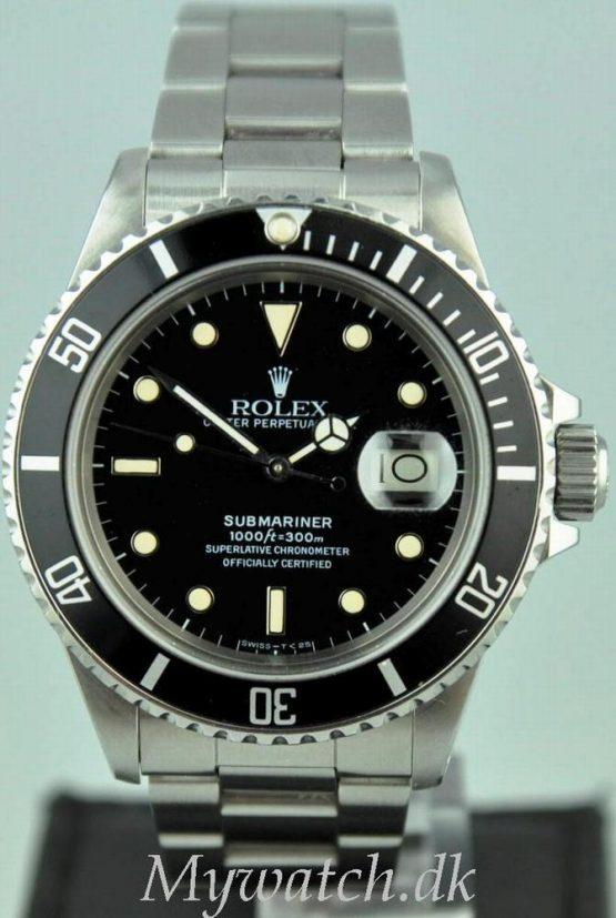Solgt - Rolex 16800 m/ boks og Papirer - 1986-0