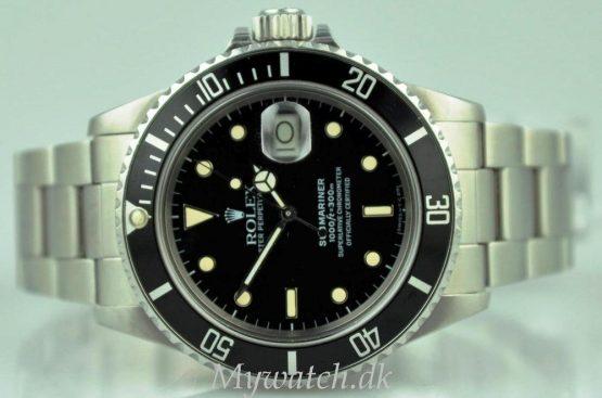 Solgt - Rolex 16800 m/ boks og Papirer - 1986-21628