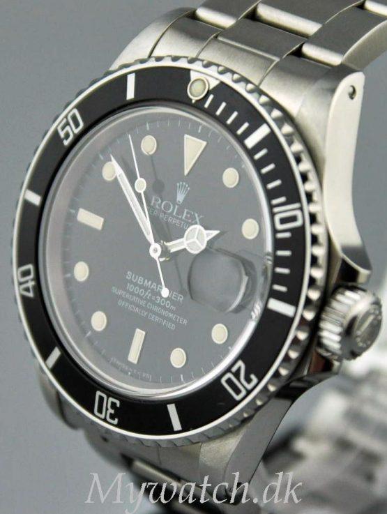 Solgt - Rolex 16800 m/ boks og Papirer - 1986-21629