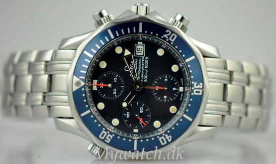 Solgt - Omega Seamaster Chronograph - 1999-21686