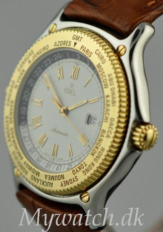 Solgt - Ebel Voyager Worldtimer - 10/2005-22401