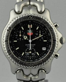 Solgt - Tag Heuer Professional Chrono - 12/1999-0