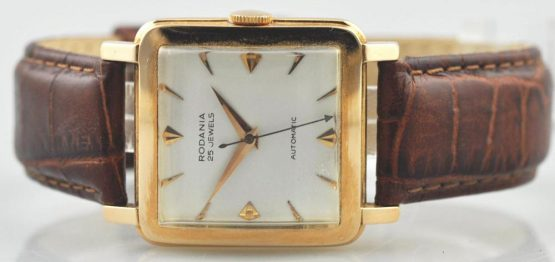 Solgt - Rodania 18 ct. dress watch automatic-21945