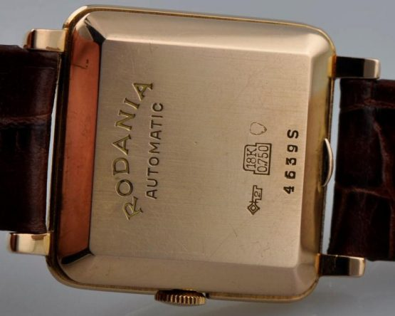 Solgt - Rodania 18 ct. dress watch automatic-21947