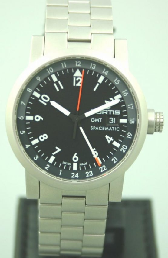 Solgt - Fortis GMT Automatic, som ny-0