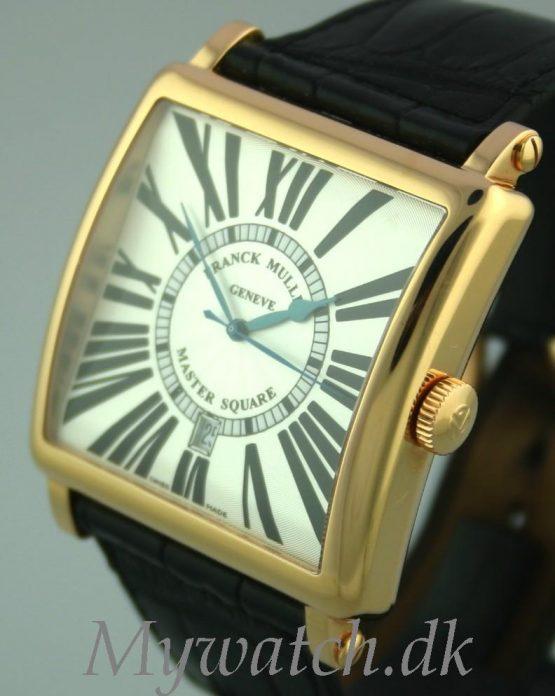 Solgt - Franck Muller Master Square 18 ct. gold.-22524