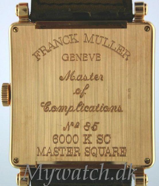 Solgt - Franck Muller Master Square 18 ct. gold.-22525