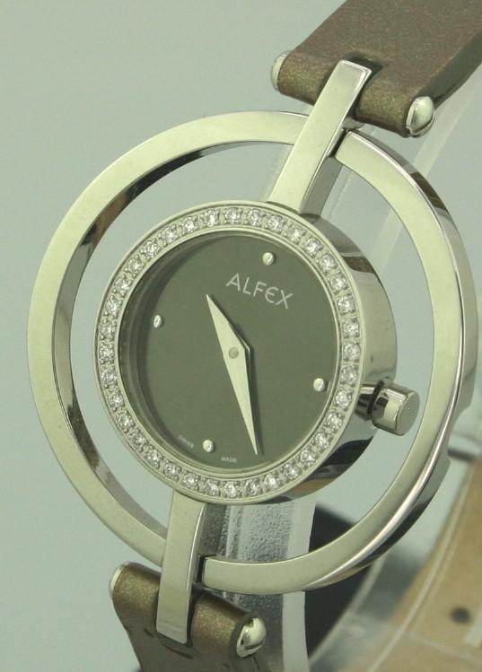 Solgt - Alfex m/ 44 diamanter, uret er helt nyt-22064