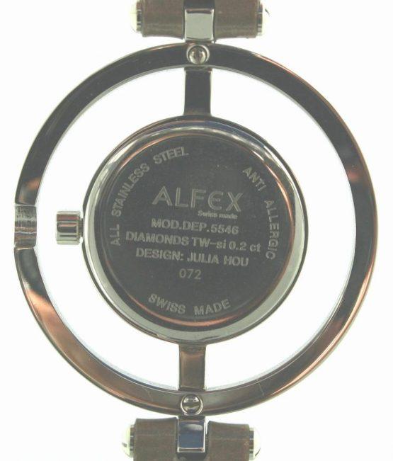 Solgt - Alfex m/ 44 diamanter, uret er helt nyt-22065