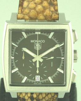 Solgt - Tag Heuer Monaco 8/2005, som ny-0