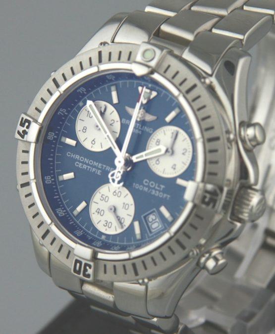 Solgt - Breitling Colt chronograph quartz. - 2005-22225