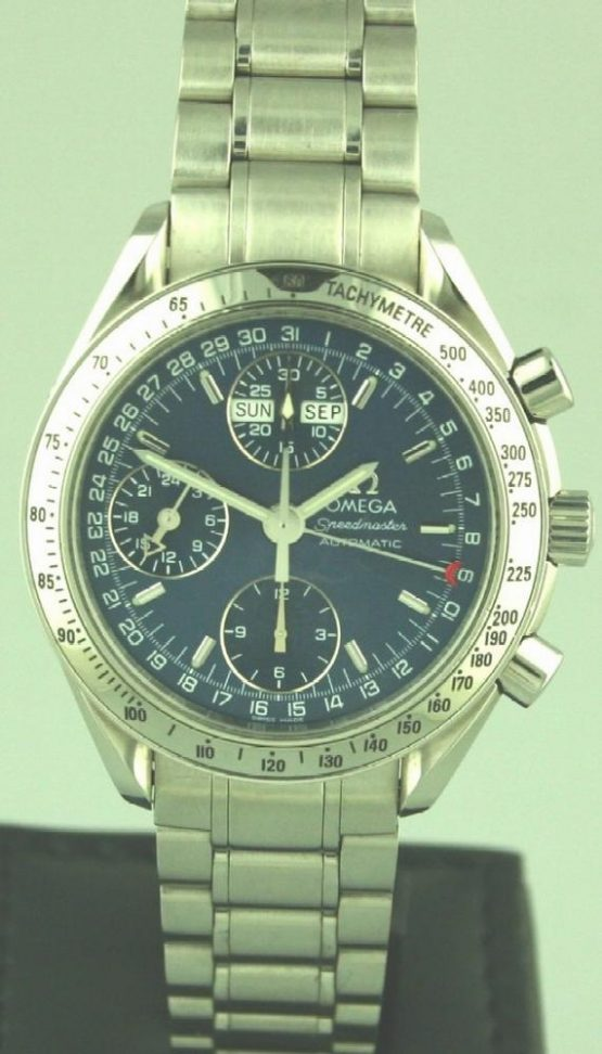 Solgt - Omega Speedmaster Day-Date automatic-0
