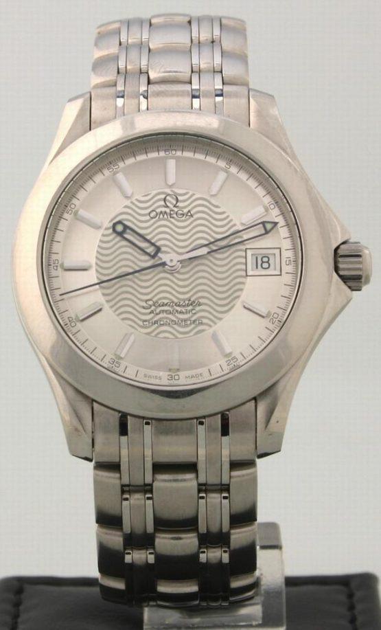Solgt - Omega Seamaster Chronometre Automatic-0