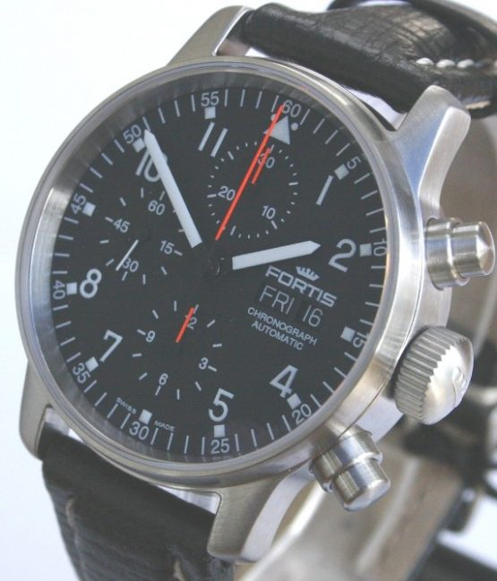 Solgt - Fortis Flieger Chronograph-22499