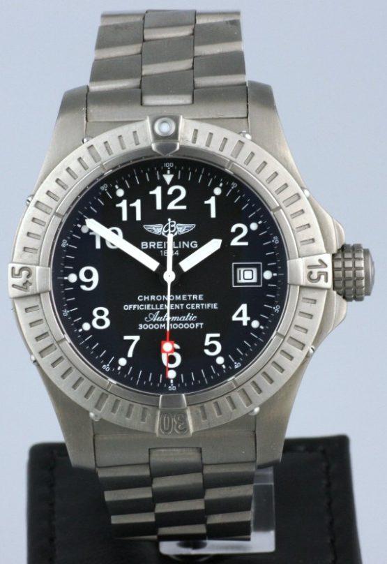 Solgt - Breitling Seawolf Titanium - 2007-0