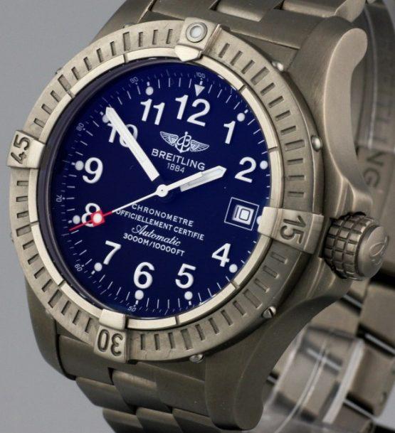 Solgt - Breitling Seawolf Titanium - 2007-22249