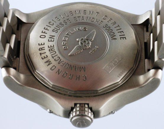 Solgt - Breitling Seawolf Titanium - 2007-22250