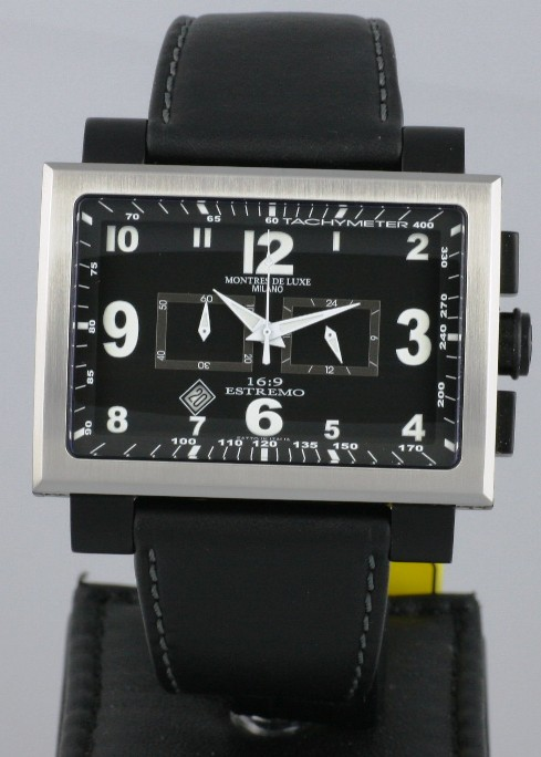 Solgt - MDL Extremo 16:9, ref 1690 CR Silver - NEW-0
