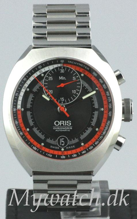 Solgt - Oris Chronoris automatic- som nyt-0