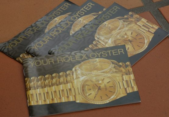 Rolex booklet: Your Oysterdate-0