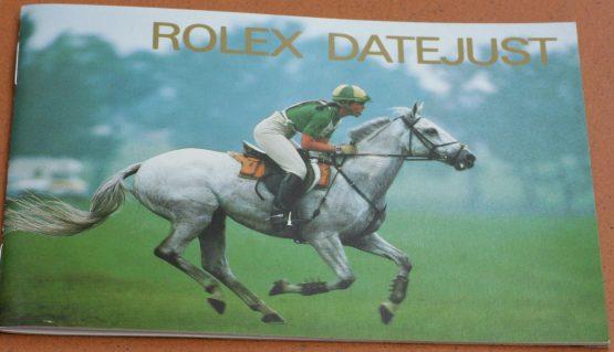 Rolex booklet: Rolex Datejust-0