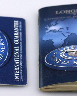 Longines Booklet & Certificate-0