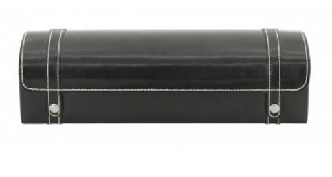 Watch Case Black Leather 5-0